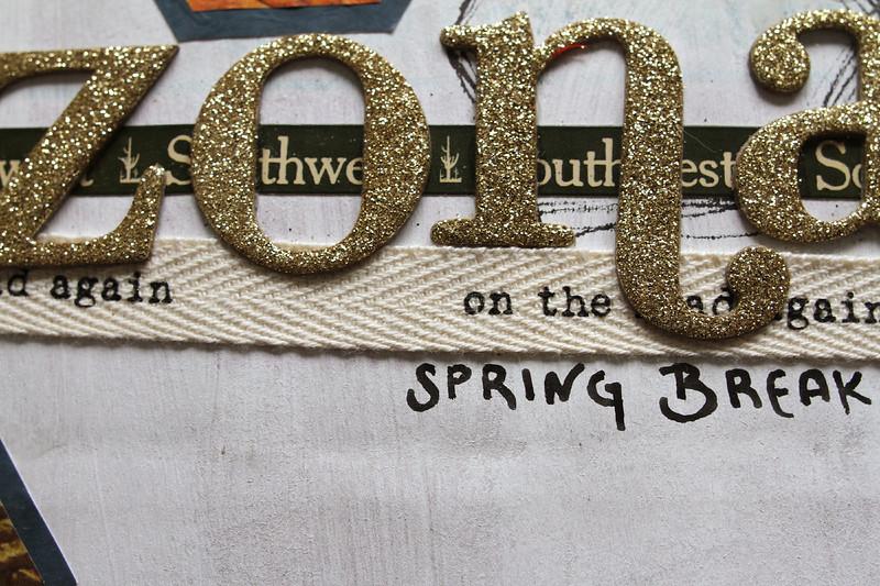 Trip journal from Spring Break 2011.