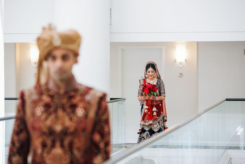 Le Cape Weddings - Indian Wedding - Day 4 - Megan and Karthik First Look 10.jpg
