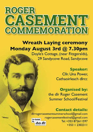 Casement Commemoration and Wreath Laying Ceremony 2020