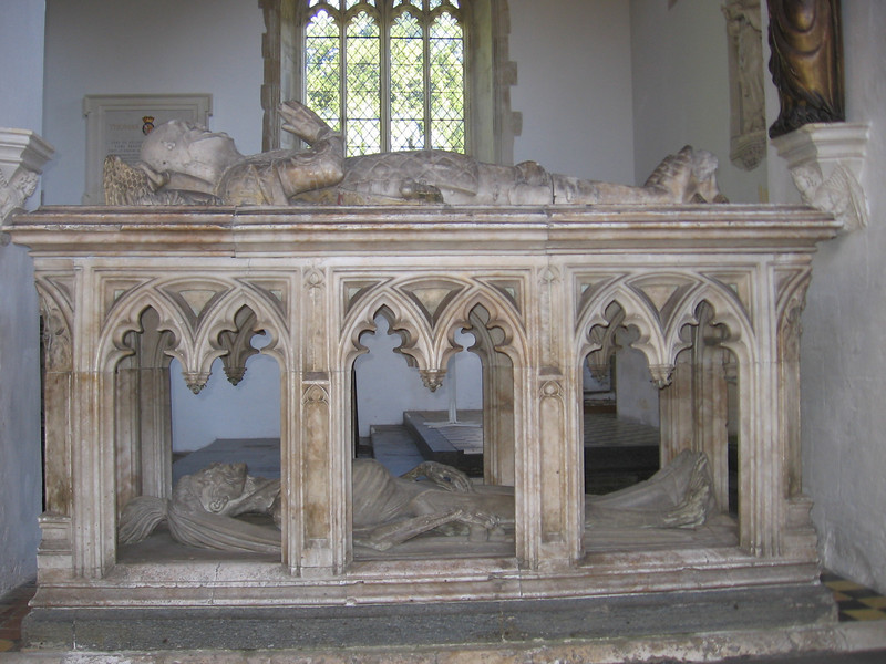Tomb of seventh Earl of Arundel, Fitzalan Chapel, Arundel