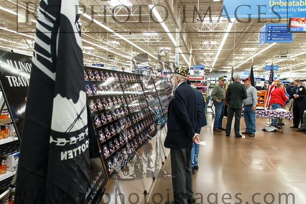 Walmart Veterans Event Nov. 7, 2014