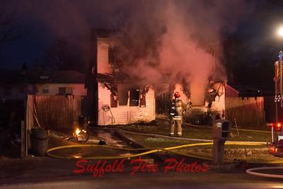 Brookhaven House Fire Schenk Dr.  [12.22.17]