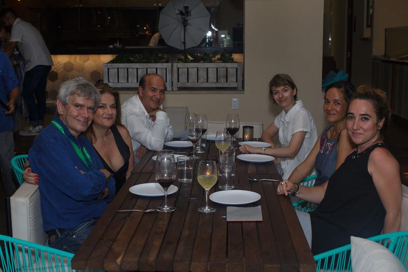 John Gianito, Sylvianne Akerman, Claudio Franco, Iga Harasimowicz, Isabel Rojas, Ruth Somalo