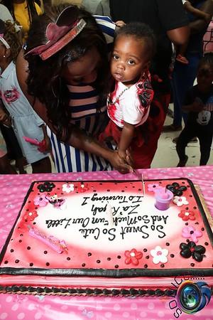 AUGUST 7TH, 2016: ZA'RIYAH'S 1ST BIRTHDAY BASH