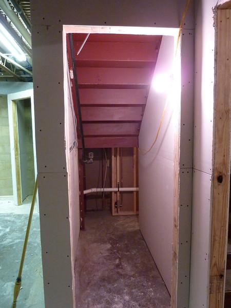 The new custodian's closet.