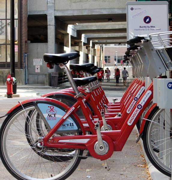 madison bike sharing