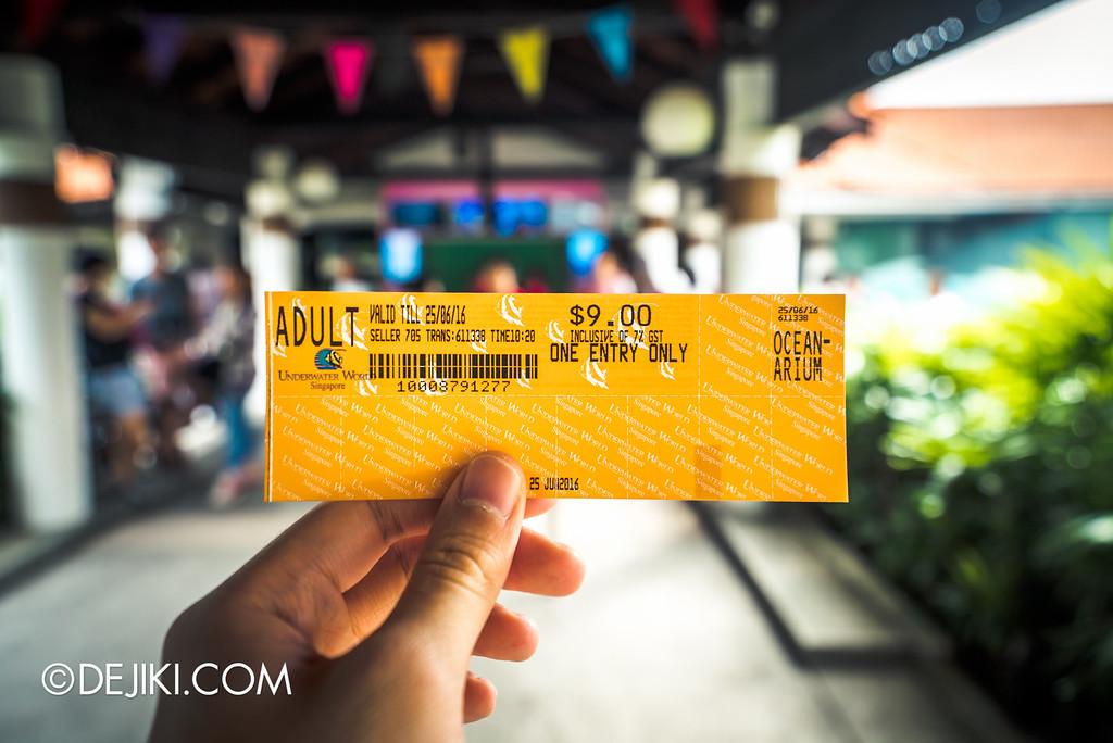 Underwater World Singapore - Single adult ticket