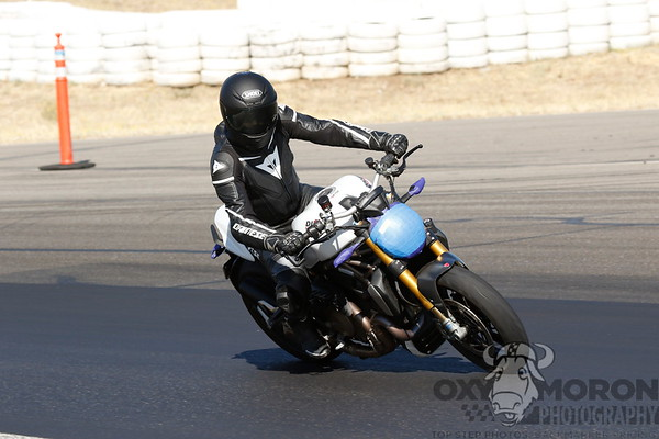 Duc White Black Leathers