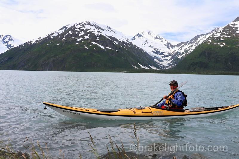 Kayaking Portage Lake