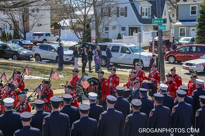 Funeral for FF Keith Young TL158 3/24/18