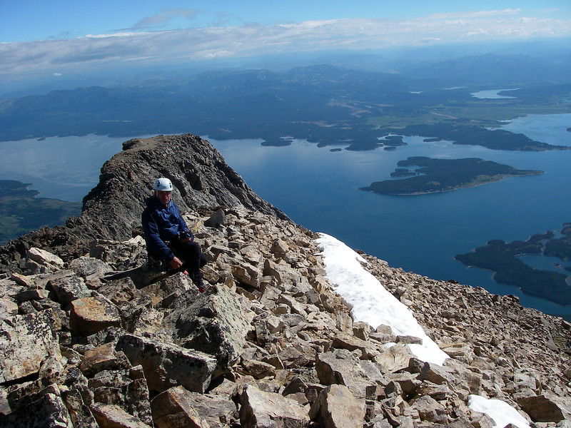 Award for summiting - spectacular sceeneries, ...