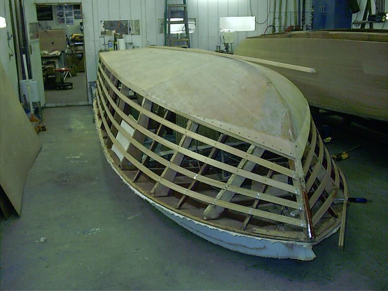 New port side battens fit.