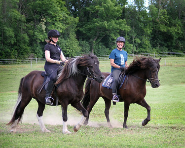 Barbara Frische Pleasure Riding Clinic - 2014