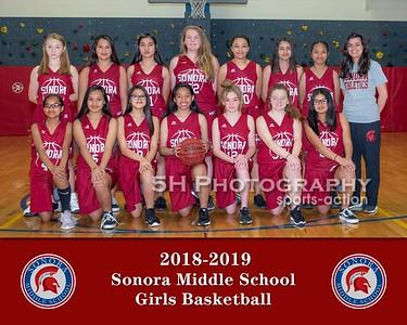Sonora Girls Basketball
