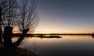 Damhussøen solnedgang 2019
