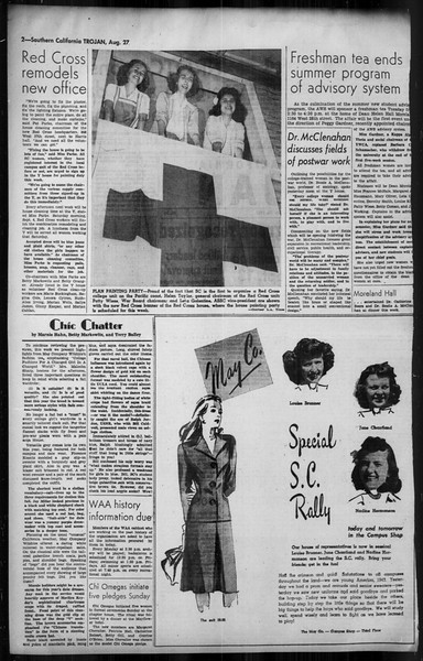 Southern California Trojan, Vol. 35, No. 24, August 27, 1943