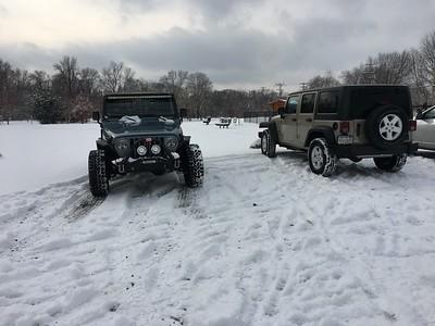 Val Dog Park Snow - 12-30-17