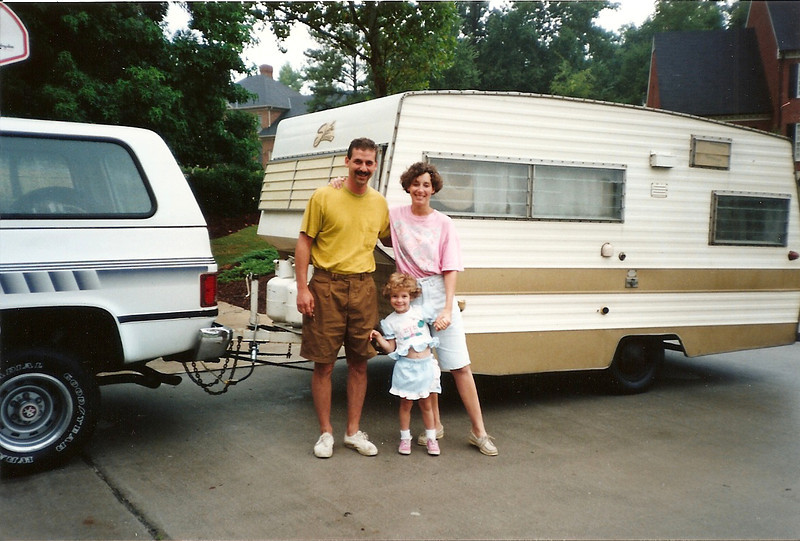 Greg, Jane & Maddie stop by Durham on the way to the Outer Banks    7/92