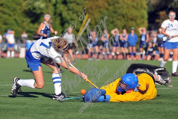 Oley vs Villa Maria Varsity High School Field Hockey 2014