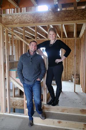 Rachael + Brandon | At Home