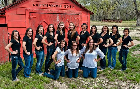Ladyhawks Team 2013