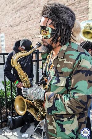Mardi Gras Street Car Adventure - Saturday 2-6-2016
