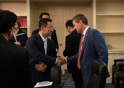 1.13.2020 Meeting with Korean Media