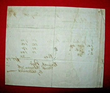 Merrill, Thomas & Co. Order and Payment Received