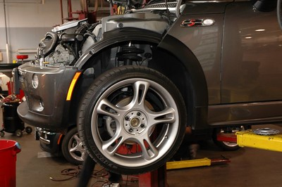 New JCW suspension install