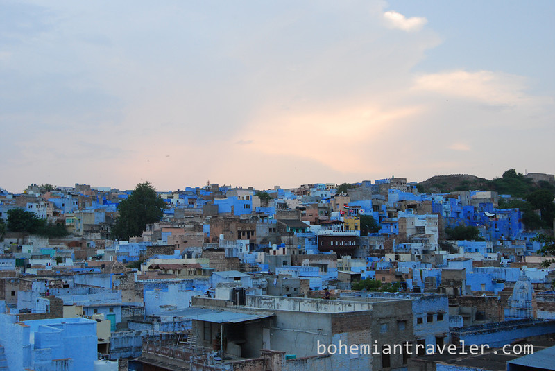 View of the Blue City of Jodhpur at dusk.jpg