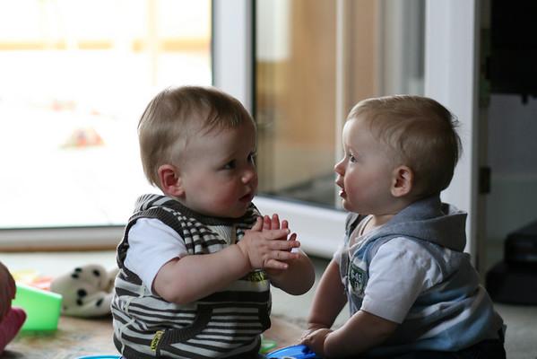 Jack & Charlie, Easter 2008