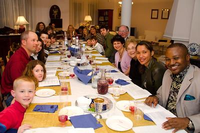 2012 Seder Meal