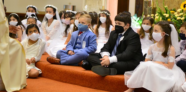 First Communion Celebrations 2021-Weekend 1 and 2