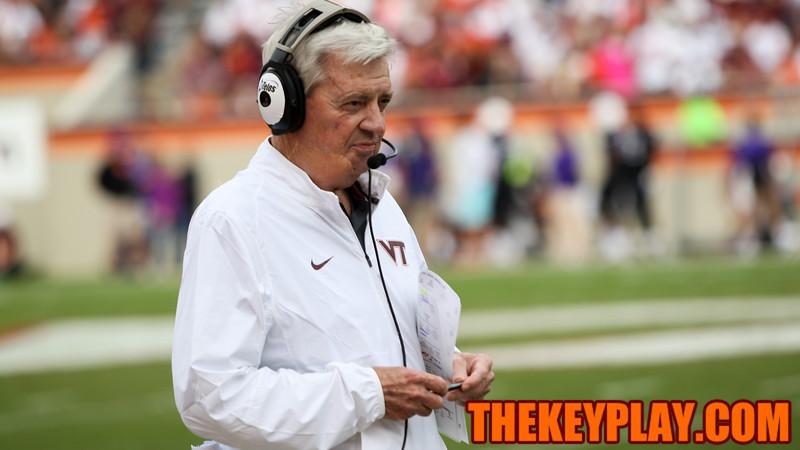 Head coach Frank Beamer. (Mark Umansky/TheKeyPlay.com)