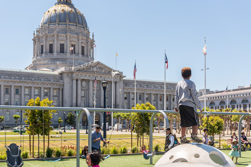 Civic Center Playground - June '18