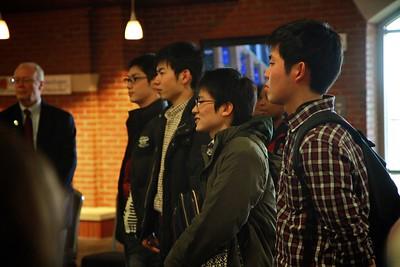Japanese Students Visit GWU