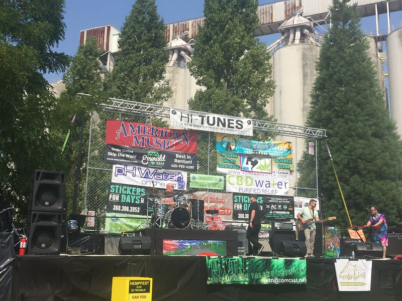 Photo by Sharon Whitson, Seattle Hempfest COO