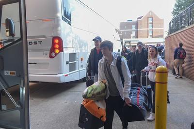 Men leave for NCAA Tornament
