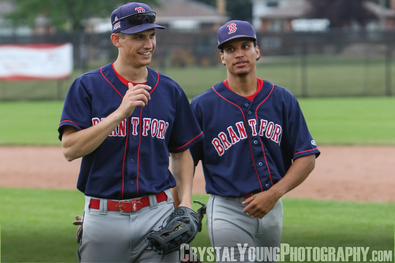 Brantford Red Sox at Hamilton Cardinals July 29, 2018