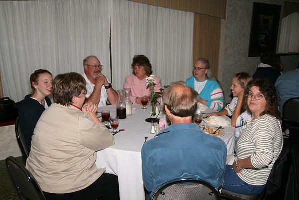 Band Senior Dinner 2008-05-12