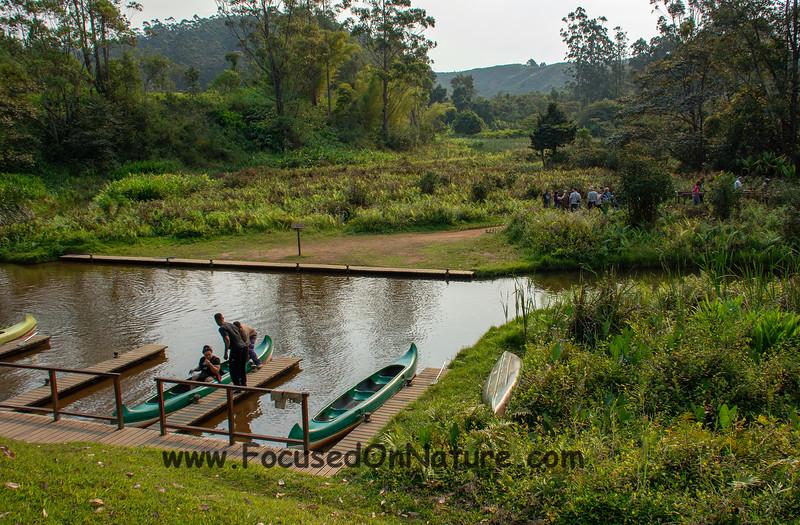 The world's shortest canoe trip