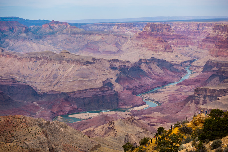 Grand Canyon and the Colorado River in Arizona, USA