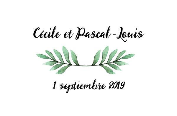 Cécile et Pascal-Louis - 1 septiembre 2019