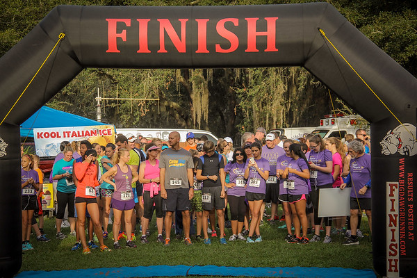 5K for Gulfside Hospice, Starkey Park 11 15 2015