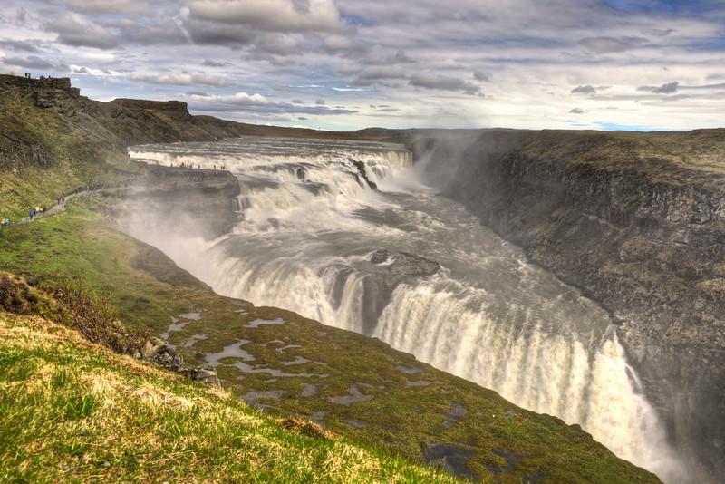 Gullfoss - lower falls