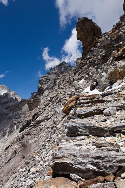 Stairs to Renjo La