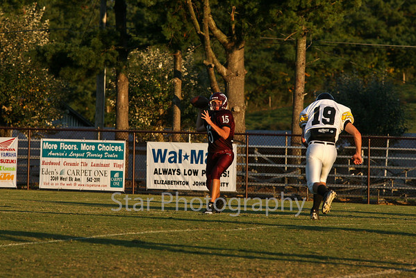 HVHS JV Football 10-11-10