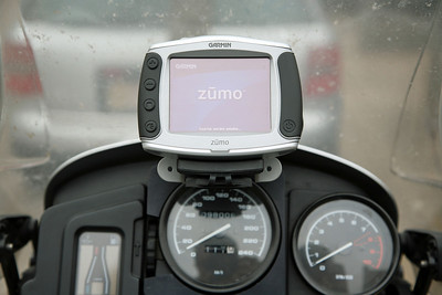 Garmin Zumo 550 on R1150GS