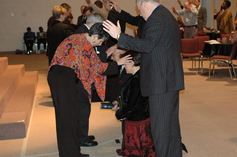 CCIF Pastors' Consecration Ceremony - January 2007