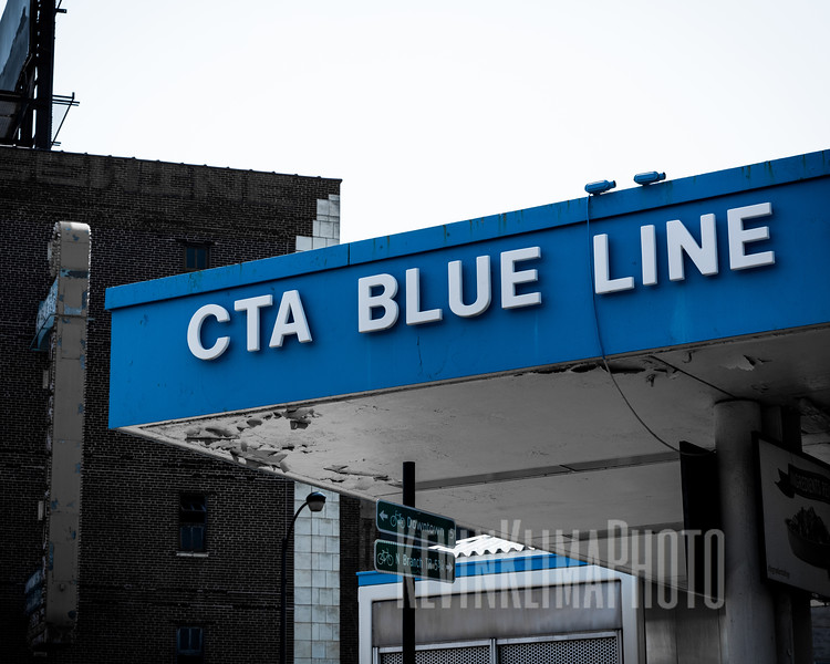 CTA Blue Line - Logan Square